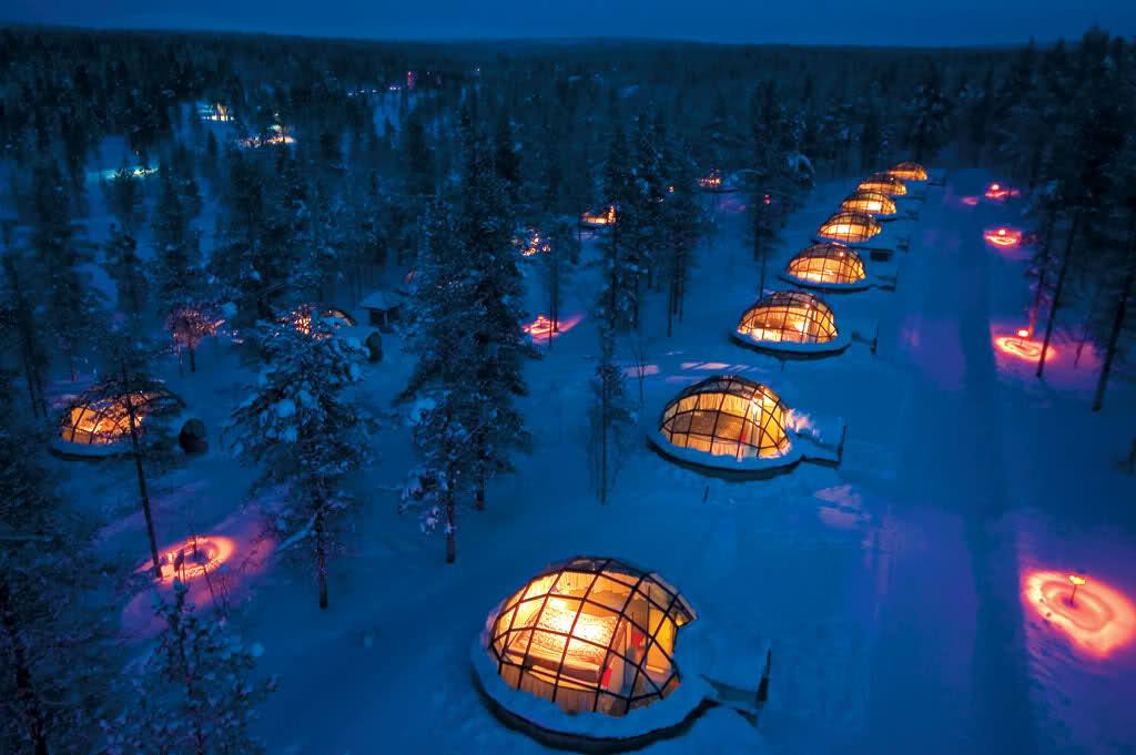 Kakslauttanen Artic Resort