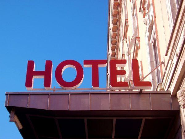 Att bo på hotell